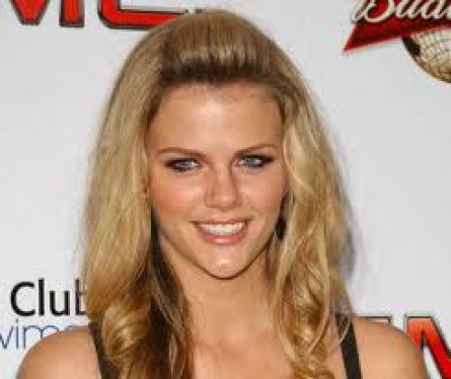 The devastatingly- lovely model, Brooklyn Decker