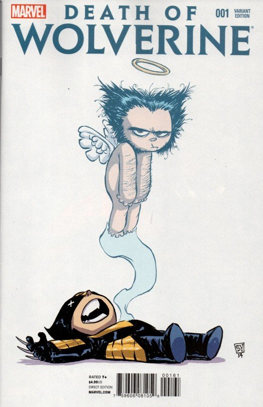 Death of Wolverine Skottie Young Variant