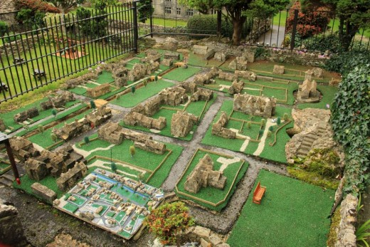 The model of the model village