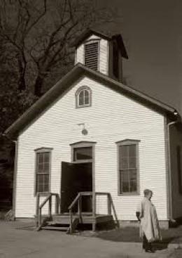 Two- room schoolhouse