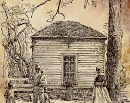 Pioneer school building