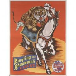 Horse-Riding Lions