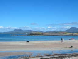 Scottish Beach in the height of Summer