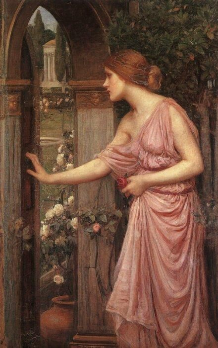 Psyche by John William Waterhouse (1849 - 1917), 1904