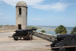 Gun Deck Of The Old Spanish Fort.