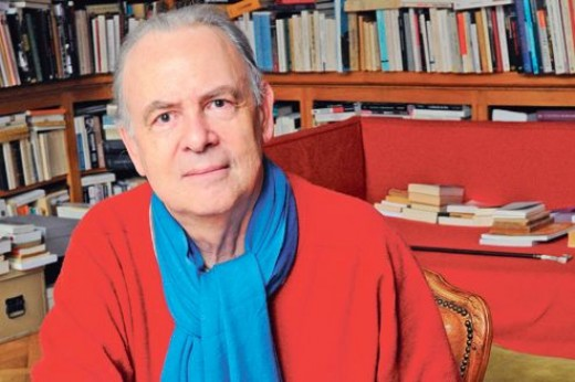 Patrick Modiano, 2014 Nobel Laureate in Literature.