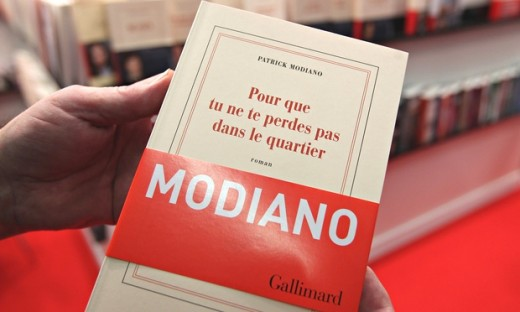 Modiano's latest novel. (2014)