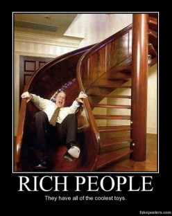 Having Fun is for Rich People