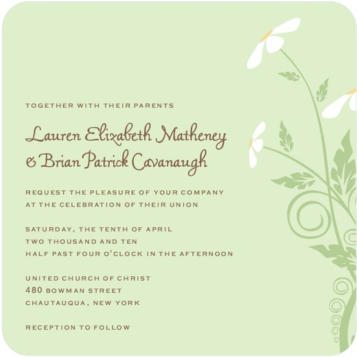 Wedding Invitation Wording Together With Their Parents: Wedding Invitation Wording