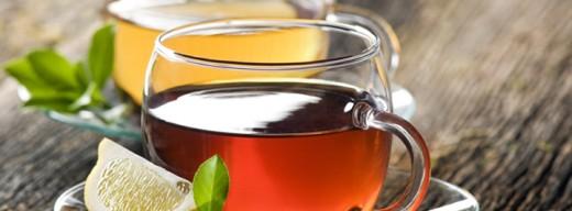 Hot Tea Brew in Cup