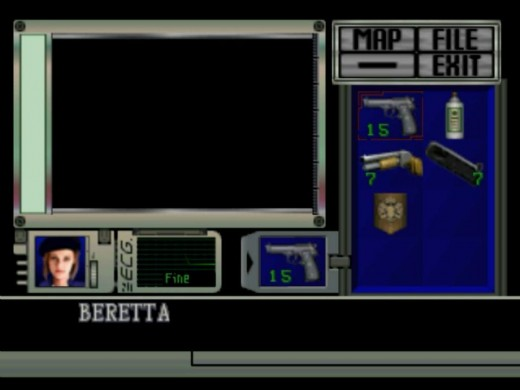 The inventory system was a crucial element of the entire game's design and it's easy to overlook how important it was.
