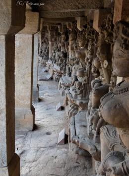 Idols of Chausath Yogini Near Marble Rocks