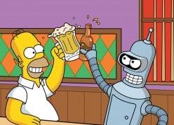 Futurama vs Simpsons