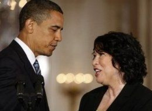 From the project house to the Supreme Court - Judge Sotomayor.
