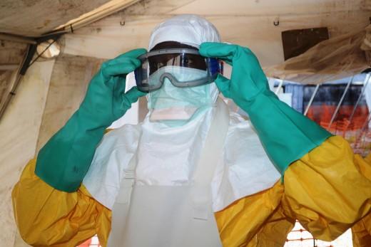 Ebola Gear in Africa