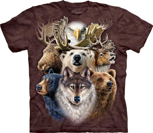 The Mountain Northern Wildlife T-Shirt