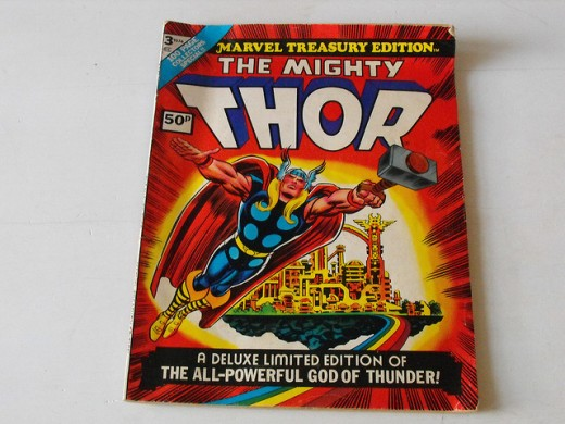 The Mighty Thor Marvel Treasury Edition Comic Book