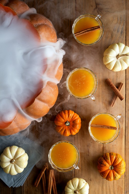 Smoky Pumpkin Punch:)