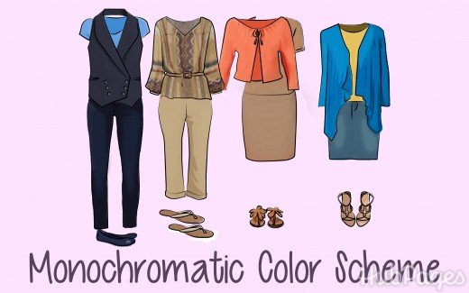Petite Plus Size: Monochrome Color Schemes Work for You