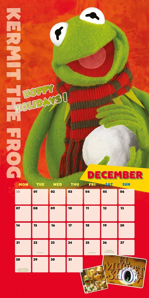 The Muppets Most Wanted 2015 Calendar