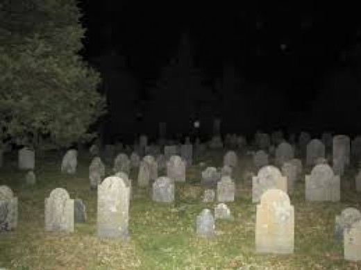 There are said to be some very active ghosts in the Coon Hill Cemetery and some very unusual things go on here.