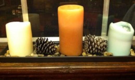 My kitchen Samhain altar