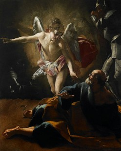 A Contemplative Analysis: Giovanni Lanfranco versus Albert Bierstadt