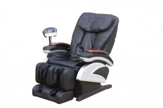 Electric Full Body Shiatsu Massage Chair Recliner w/Heat Stretched Foot Rest 06C reviews