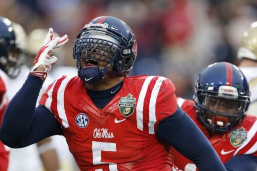 Robert Nkemdiche leads an Ole Miss defense that allows less than 12 points per game.