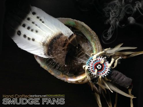Handmade Smudge Fans