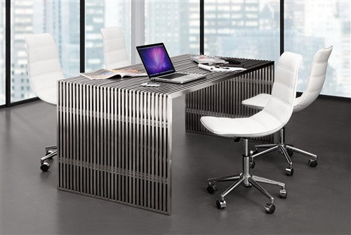 Modern, quality office furniture can be downright difficult to find!