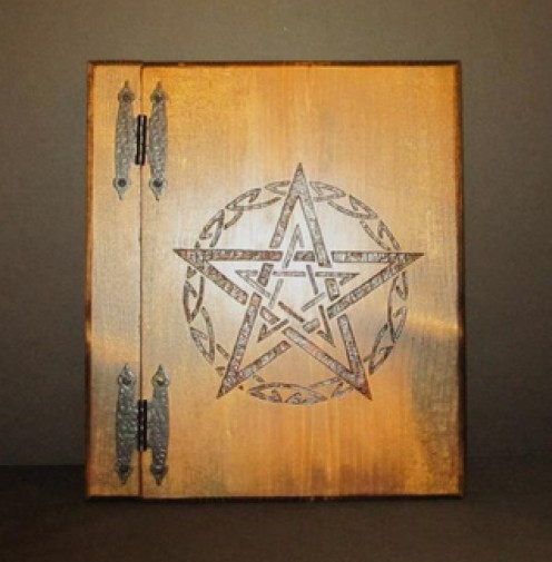 Hand Crafted Book of Shadows