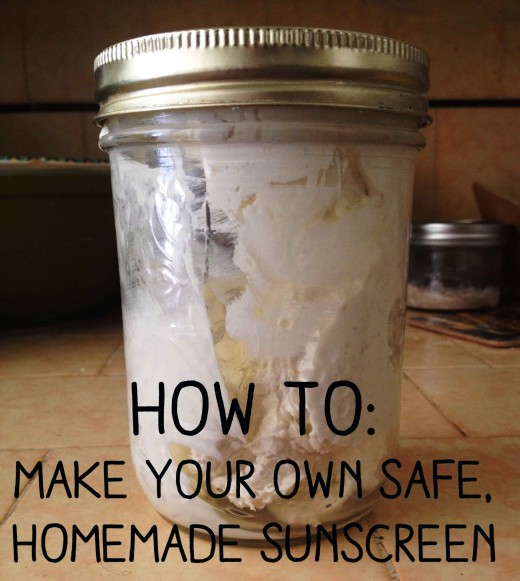 How to make your own safe, homemade sunscreen