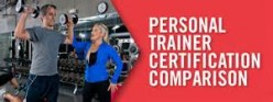 Certification for a fitness trainer.