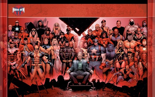 Characters from Marvel's House of M
