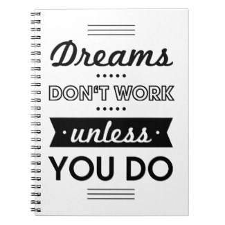 Determination can make your WAH dream come true.  (notebook and other items available by clicking the source link)