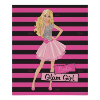 Barbie doll (posters and other items available by clicking the source link)