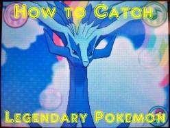 How to Catch Legendary Pokémon in the Pokémon Games
