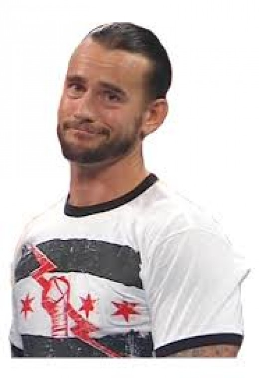 CM Punk is not impressed.