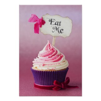 Cupcake posters and other items available by clicking the source link.
