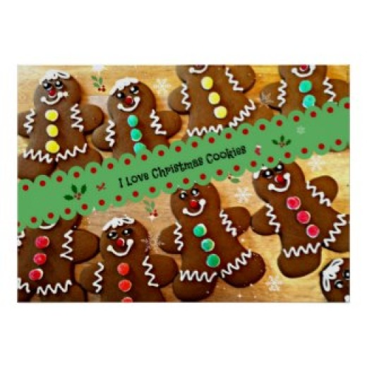 I love Christmas cookies posters and other items available by clicking the source link