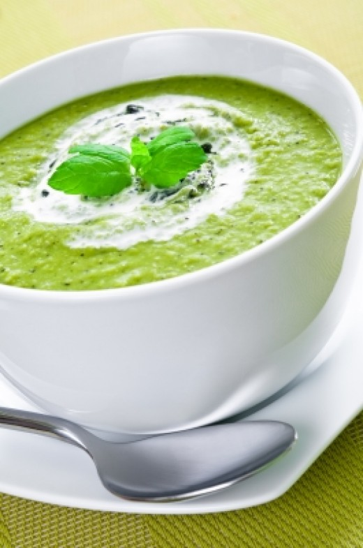 Homemade Parsley Soup