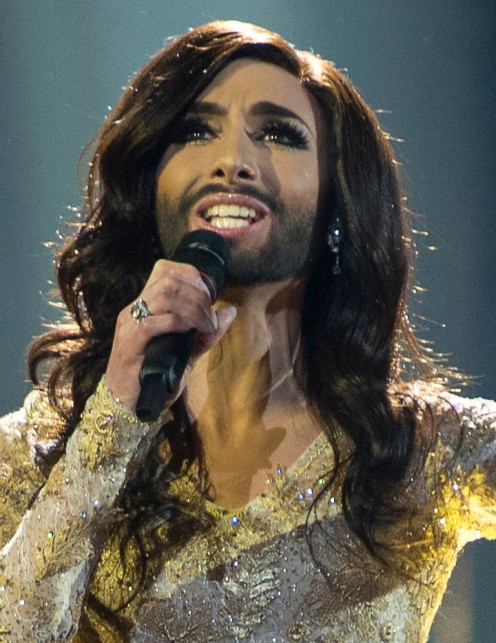 Conchita Wurst: Winner of the 2014 Eurovision Song Contest for Austria