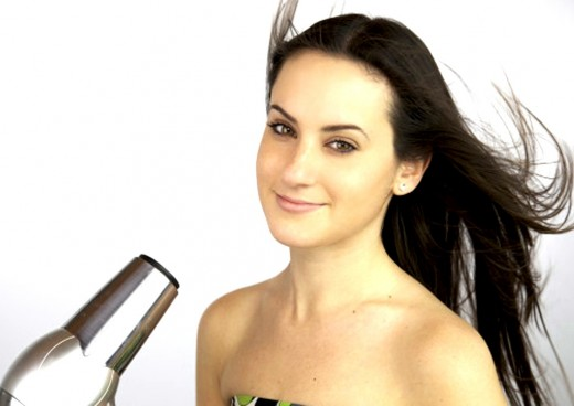 Step 2 for Brazilian Keratin Treatment: Dry Hair Thoroughly