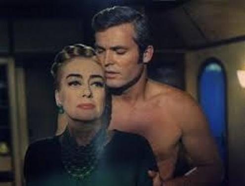 Hardin in a scene with Joan Crawford