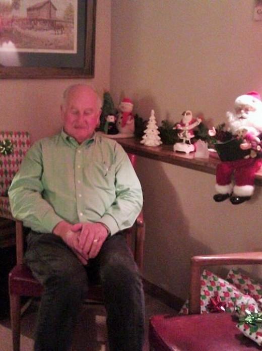 Dad Summerlin in the flesh, December 2011