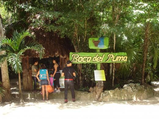 Entering Boca