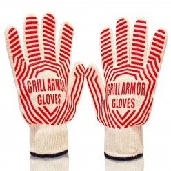 BBQ Gloves | Oven Gloves | Premium Quality Extreme Heat Resistant EN407 Certified Grill Gloves