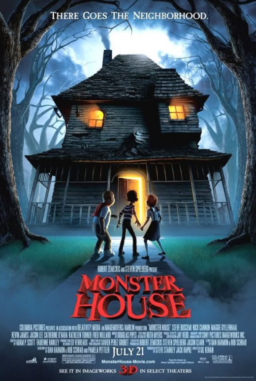 Monster House official poster