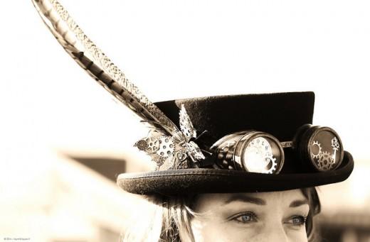 Steampunk Hat at Steampunk Fest Roma - 2014